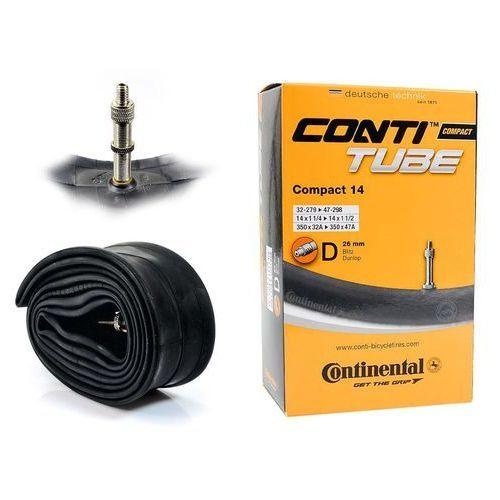 Continental Co0181081 dętka compact 14'' x 1,25'' - 1,75'' wentyl dunlop 26 mm (4019238556254)