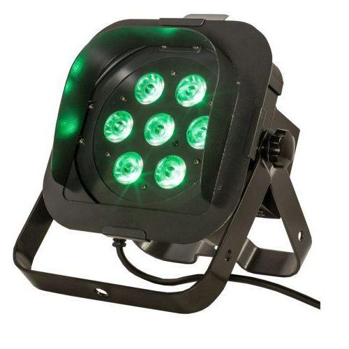 flat par tri7xs - reflektor led rgb czarny płaski 7 x 3w triled marki American dj