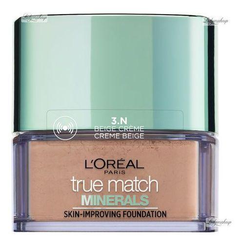L'Oreal Paris True Match Minerals Skin-Improving Foundation, 10 g. Puder mineralny, Creme Beige - L'Oreal Paris. DARMOWA DOSTAWA DO KIOSKU RUCHU OD 24