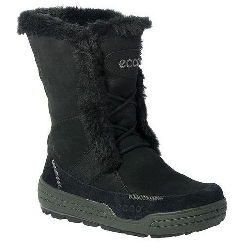 Śniegowce ECCO - Siberia 85252351707 Czarny