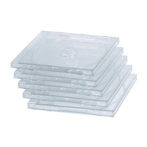 pudełka na płyty cd-box 5 szt. ( 447480000 ) darmowy odbiór w 15 miastach!, marki Hama