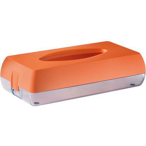 Pojemnik na chusteczki higieniczne Marplast plastik pomarańczowy, TM6773