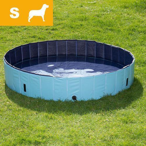 Dog pool basen dla psa, s - Ø x wys.: 80 x 20 cm (z pokrywą) marki Bitiba