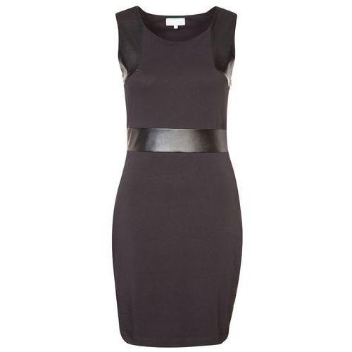 Zalando Collection PAMELA Sukienka z d�erseju czarny