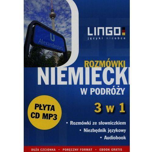Niemiecki w podróży Rozmówki 3 w 1 + CD - Wysyłka od 3,99, Dominik Piotr