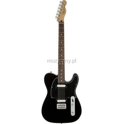 Fender Standard Telecaster HH Black gitara elektryczna, podstrunnica palisandrowa