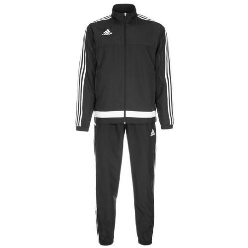 adidas Performance TIRO 15 Dres black/white - produkt z kategorii- dresy męskie komplety