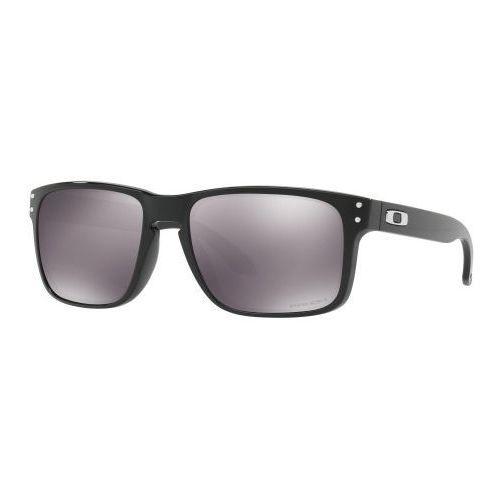 Okulary holbrook polished black prizm black iridium oo9102-e155 marki Oakley