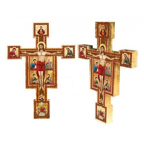 Ukrzyżowany Chrystus w otoczeniu Ewangelistów