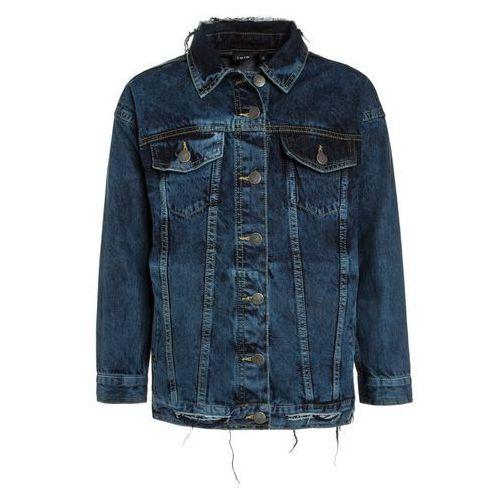 limited by name it NLFASIRANA OVERSIZED JACKET Kurtka jeansowa medium blue denim, kolor niebieski