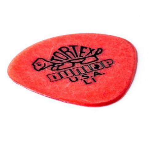 tortex jazz i pick, kostka gitarowa, light, round tip marki Dunlop
