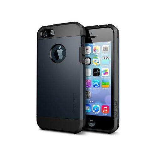 Spigen Etui tough armor iphone se/5s/5 wielokolor - grafitowy