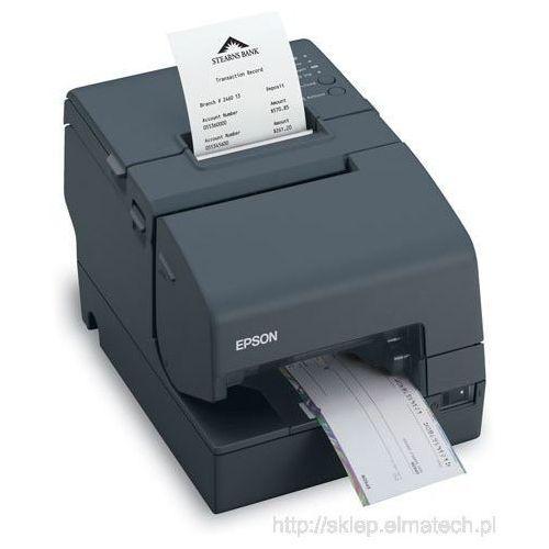 Epson TM-H 6000IV, USB, RS232, cutter, MICR, black, C31CB25034