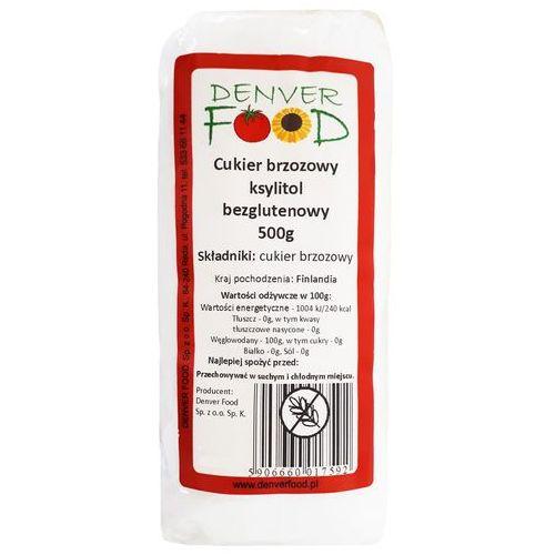 Denver food ul. pogodna 11, 84-240 reda, polska dystrybutor: denver fo Cukier brzozowy ksylitol fiński bezglutenowy 500g denver food (5906660017592)