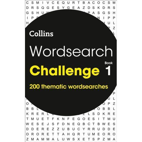 Wordsearch Challenge book 1 (9780008279653)