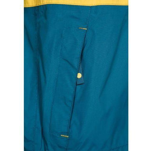 Jack Wolfskin RAINY DAYS Kurtka hardshell yellow/moss - produkt z kategorii- kurtki dla dzieci