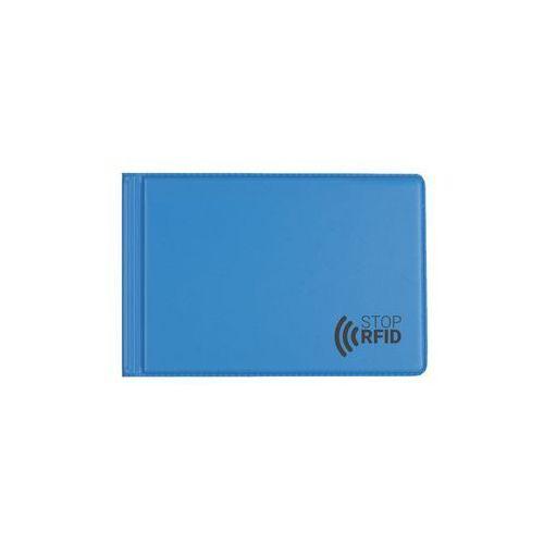 Etui antykradzieżowe karty zbliżeniowe 6 kart RFID - niebieski (5907214111056)