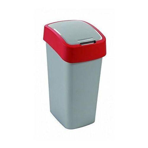 Kosz na śmieci Sorter na śmieci Flip Bin 50L red.si - produkt dostępny w twojekosze.pl