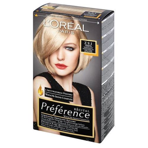 L'Oréal Farba do włosów Recital Preference - Z 9.1 Viking, L'Oréal