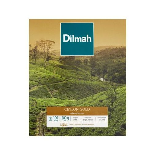 100x2g ceylon gold herbata ekspresowa marki Dilmah