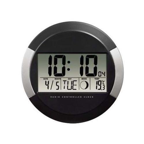 """Hama Radio z budzikiem """"PP-245"""" DCF Wall Clock - Czarny"""
