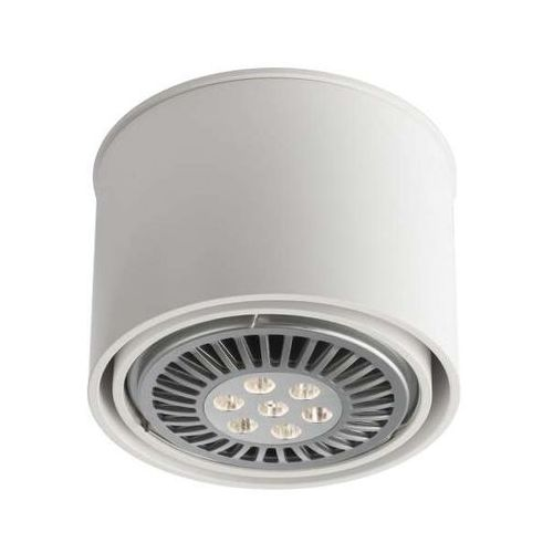 Spot LAMPA sufitowa MIKI 1117/G53/BI Shilo natynkowa OPRAWA DOWNLIGHT biały, kolor Biały