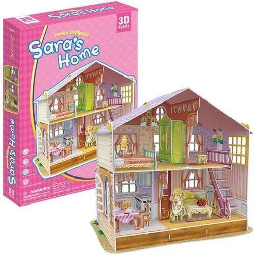 Cubicfun Puzzle 3d saras home domek dla lalek (6944588206789)