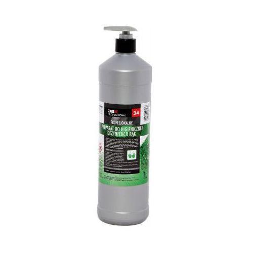 Płyn odkażający antybakteryjny do dezynfekcji rąk z pompką JAX 34 - 1000 ml