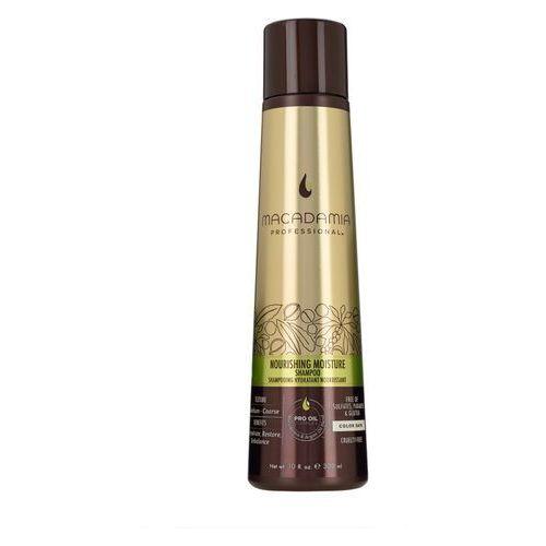 nourishing moisture - nawilżający szampon do włosów szorstkich 300ml marki Macadamia