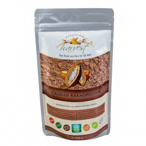 Przepyszne Kakao Criollo w proszku ekologiczne bio kakao z peru najzdrowsze kakao criollo eko 200g, 779E-195D7