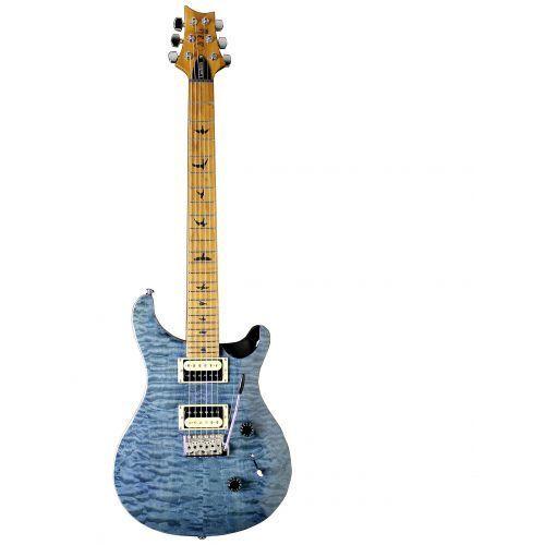 PRS 2018 Limited Edition SE Custom 24 Whale Blue Quilt, Roasted Maple Neck - gitara elektryczna