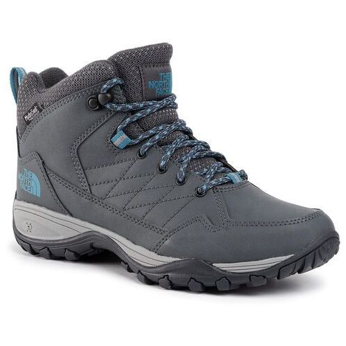 Trekkingi - storm strike ii wp nf0a3rrrgu8 ebony grey/griffin grey marki The north face