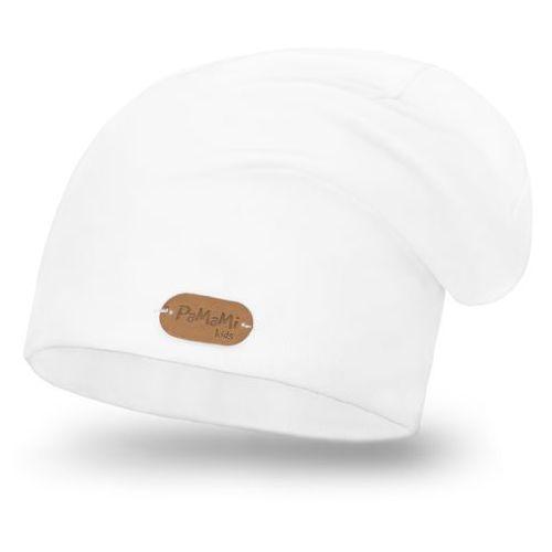 Wiosenna czapka - biały - biały marki Pamami