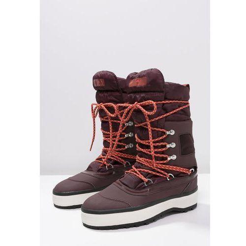 adidas by Stella McCartney NANGATOR 2 Śniegowce pomegranate/clove/black, czerwony w 4 rozmiarach
