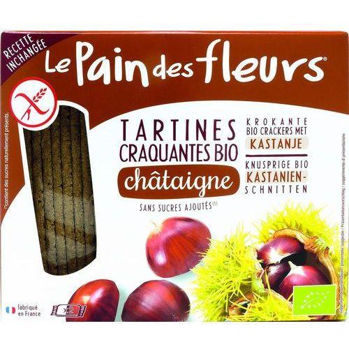 Pieczywo chrupkie kasztanowe bezglutenowe BIO 150 g Pain Des Fleurs (3380380057977)