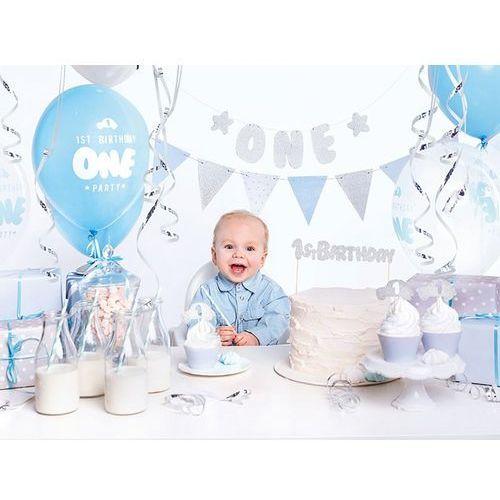 Party Box - Imprezowe Pudełko - Zestaw dekoracji na roczek 1st Birthday