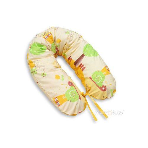 Mamo-tato poszewka na poduszkę dla kobiet w ciąży ślimaki pomarańczowe