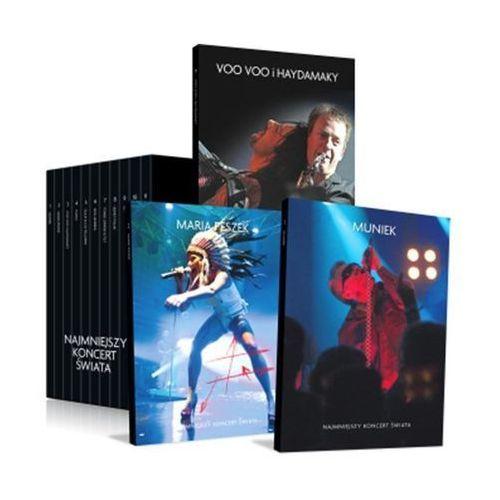 Muniek najmniejszy koncert świata dvd (płyta cd) marki Agora