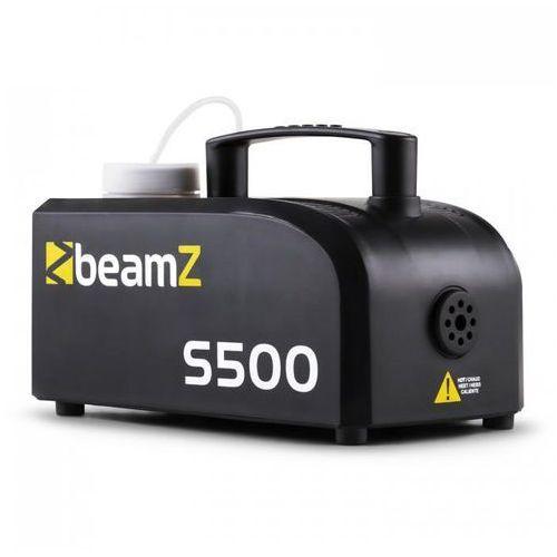 Beamz S500 wytwornica mgły new edition 500 w 50m³ z 250 ml fluidu do wytwarzania mgły
