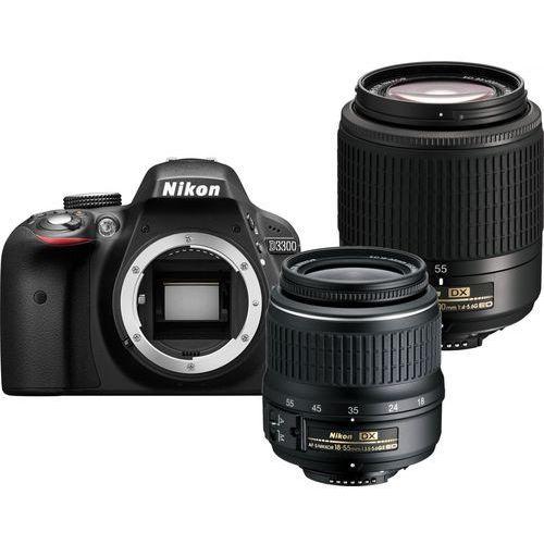 D3300 marki Nikon - lustrzanka cyfrowa