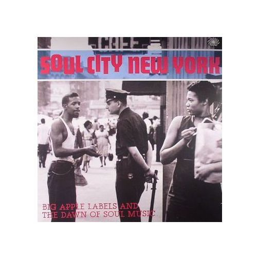 Fantastic voyage Różni wykonawcy - soul city new york - big apple labels and the dawn of soul music (5055311001692)