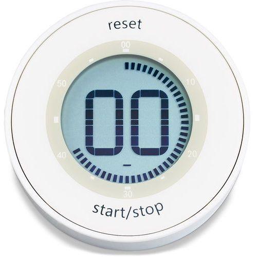 Minutnik elektroniczny z wyświetlaczem lcd - okrągły (ad-td 1800-1) marki Ade