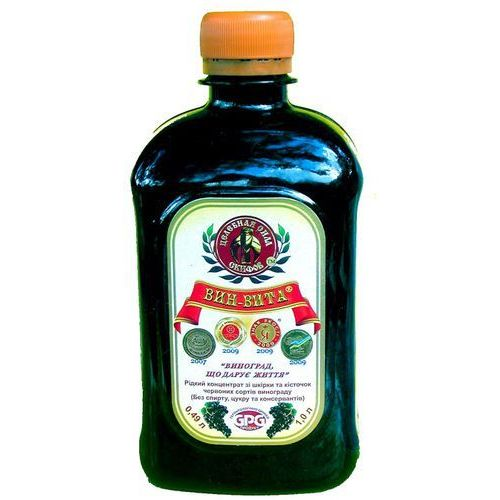 Remedium natura Vin vita płynny koncentrat z ciemnych odmian winogron