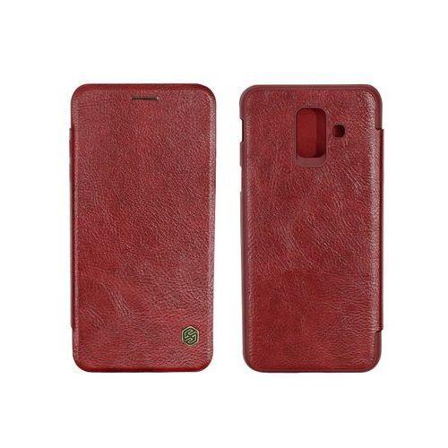 Samsung Galaxy A6 (2018) - etui na telefon Nillkin Qin - czerwony