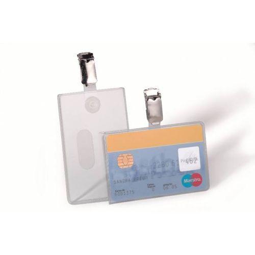 Holder do karty DURABLE 54*85mm poziomy (25) - X04828
