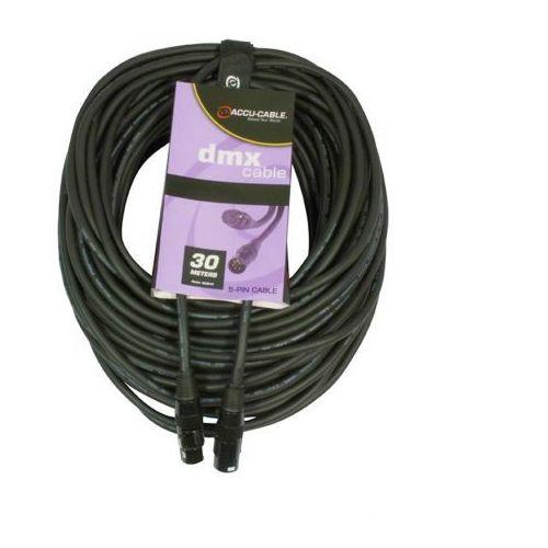 Accu cable przewód dmx 5pin 110 ohm 30m