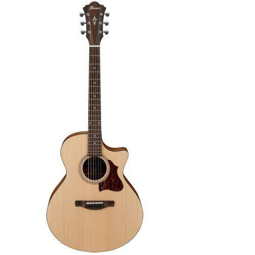 ae1-lg gitara elektroakustyczna, w zestawie przedwzmacniacz agp10 z mocowaniem tama mca53ac marki Ibanez