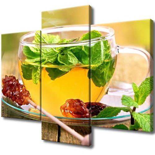 Obraz do Salonu Herbatka miętowa cukier trzcinowy