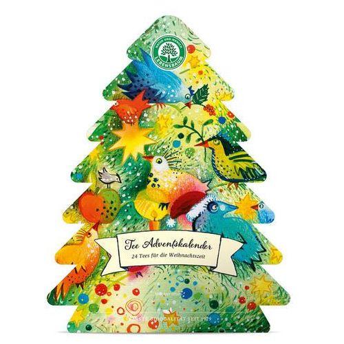 Lebensbaum (przyprawy, herbaty, kawy) Żż kalendarz adwentowy (herbaty) bio (24 sztuki) 46,25 g - lebensbaum (4012346267906)