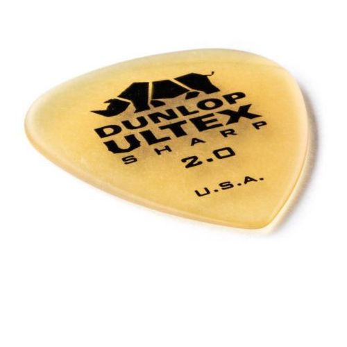 Dunlop 433p ultex sharp kostka gitarowa 2.0mm